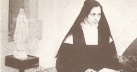 St. Elizabeth of the Trinity in Prayer