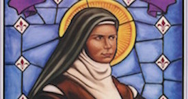 St. Elizabeth of the Trinity - Painting by Marc Little