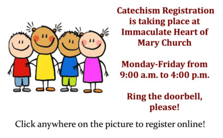 Catechism Registration