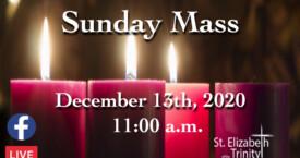 3rd Sunday of Advent - Dec 13th, 2020