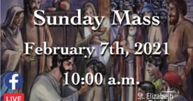 5th Sunday in OT - Feb 7th, 2021
