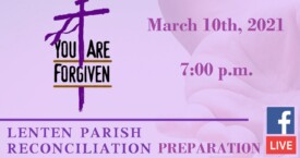 Lenten Reconc Prep - Mar 10th, 2021