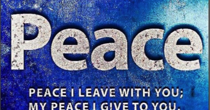 Reflection – My Peace I Give You