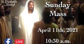Divine Mercy Sunday - Apr 11th, 2021