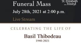 Funeral Mass for Basil Thibodeau