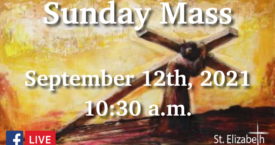24th Sunday in OT - Sept 12th, 2021